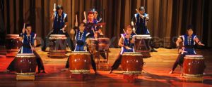Taiko Drummers in action