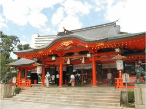 Ikuta Shrine of Kobe, Japan